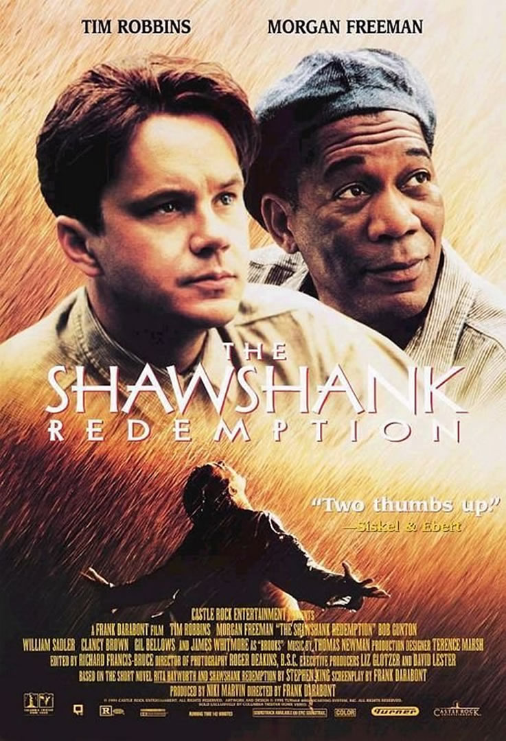 the shawshank redemption rhetorical criticism Stephen king responded to criticism that saw the film as a racial allegory by saying the only reason he made john  the prisoner in the shawshank redemption (1994.